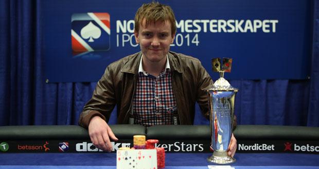 Norgesmester i poker 2014: Terje Bru Markhus