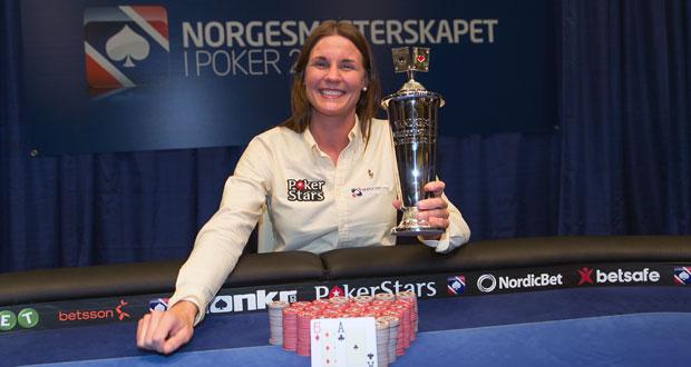 Norgesmester i poker 2014: Caroline Facius