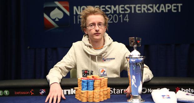 Norgesmester i poker 2014: Martin Andreas Hansen