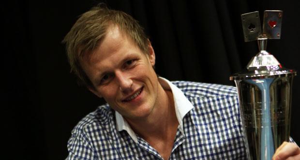 Norgesmester i poker 2014: Espen Eriksen