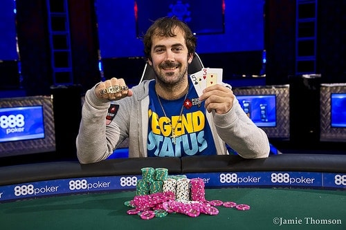 Jason Mercier vant sommerens andre WSOP-bracelet
