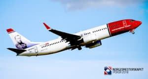 Chartret fly til Dublin