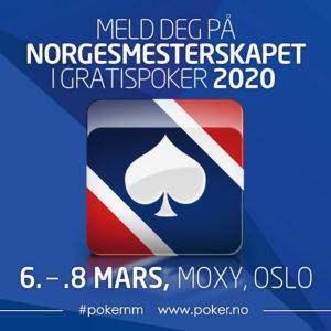 Norgesmesterskapet i Gratispoker 2020