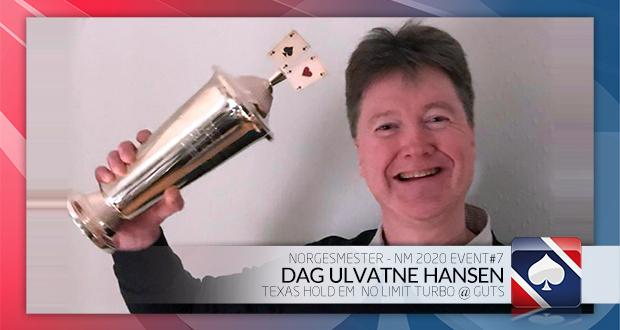 Dag Ulvatne Hansen vant Poker NM Turbo